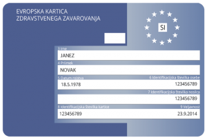 Evropska kartica zdravstvenega zavarovanja